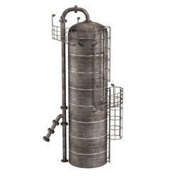 Distillation Column Silo