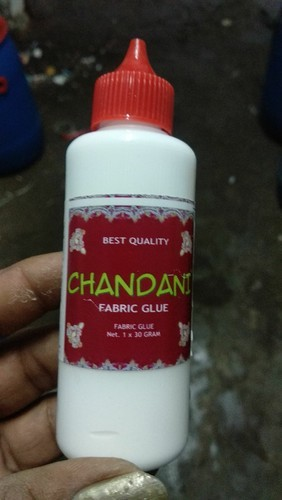 chandani fabric glue bottle 30 gram also available in 80 gram rs