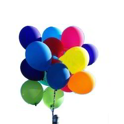 Multicolor Helium Gas Balloon