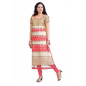 Casual Wear Semi-stitched Pure Georgette Suit