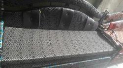 Black Steel Sofa