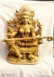 Saraswathi Matha Teakwood 2 ft