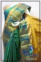 Silk Party And Wedding Wear Kanchi Pattu Sarees, With Blouse Piece