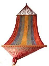 Multi Color Rope Hammock