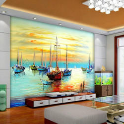 3D Wallpaper At Rs 250 Square Feets