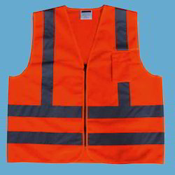 Red Safety Reflective Vest