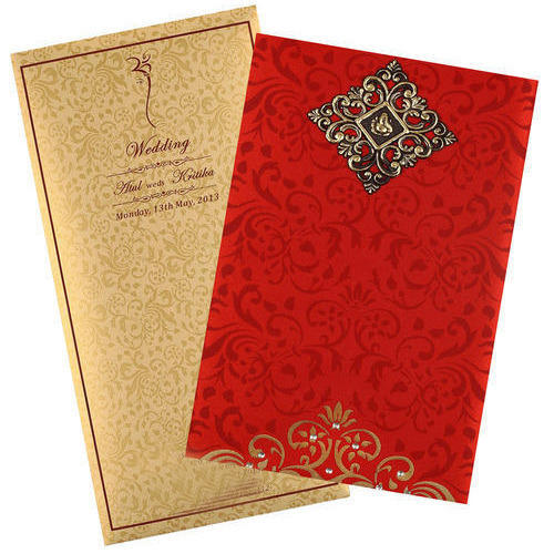 Wedding invitation card at rs 1000 100 cards wedding cards id wedding invitation card stopboris Choice Image