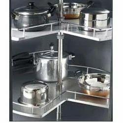 SS Utensil Rack, Kitchen Shelf Organizer, Kitchen Storage Furniture ...