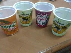 Plastic Printed Cups