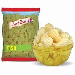 3D Fish Shape Fryums