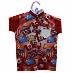 Half Sleeve Boys T-Shirt Printing Service