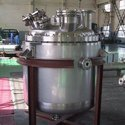 Stainless Steel Ss Reactor Vessel, Capacity: 500-1000 L