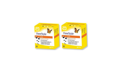 Freestyle lite blood glucose test strips 50 strips blood sugar freestyle lite blood glucose test strips 50 strips aloadofball Choice Image