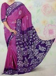 Designer Chanderi Silk Saree