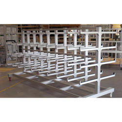 Industrial Pipe Aluminium Profile Rack