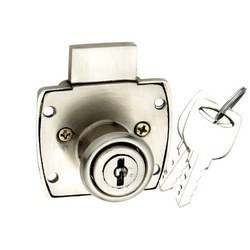 Europa Drawer Cupboard Lock, F 180, Finish Types: IV