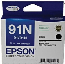 Epson 91N Black Ink Cartridge