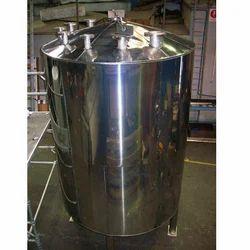 SS316 Milk Storage Tank