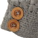 Wooden Sweater Buttons