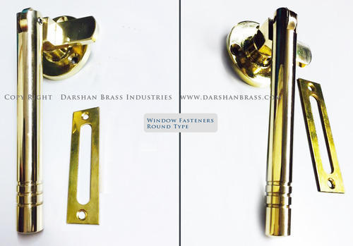 Brass Window Fasteners Round