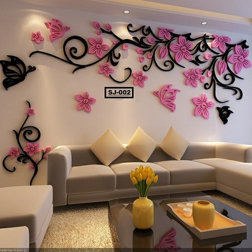 Acrylic Sheet Design And Wall Design