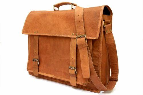 Goat Vintage Leather Laptop Bag Messenger