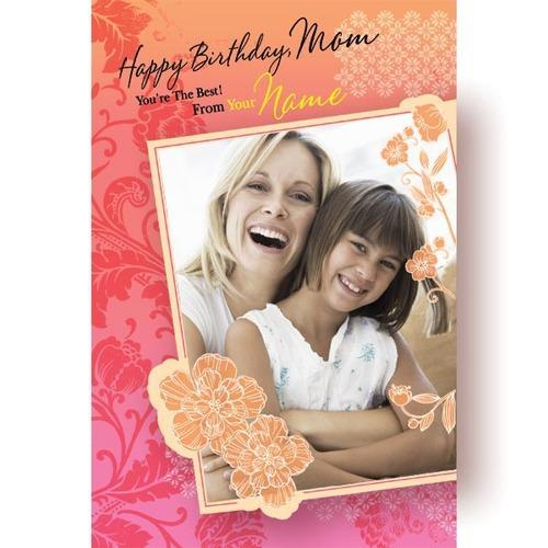 Multicolor Personalized Greeting Cards Size A3