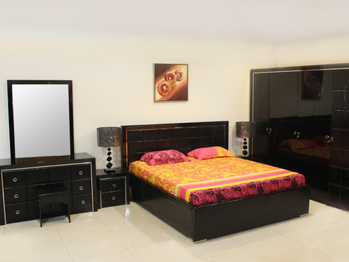 Wood Bedroom Furniture Set Without Box
