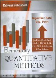 Elementary Quantitative Methods