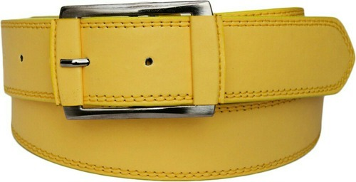 ABHISHEK CREATIONS Yellow Child Belt, Size: Size 1.5mm Lenght 38