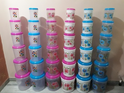 4a80e0e7634 UKP Printed Household Plastic Container, Packaging Type: Box, for Home
