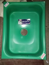 Stainless Steel Kitchen Sink, Shape: Square
