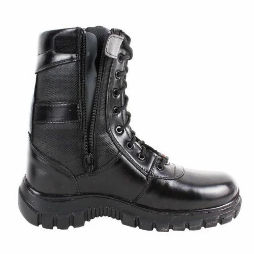 Black SSG High Ankle Safety Shoe, Size