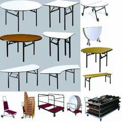 Smart Black Hotel Furniture, Seating Capacity: 4, Size: Universal