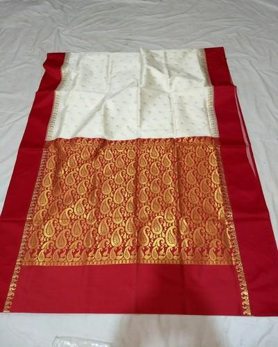 Gorod Silk Saree with Blouse Piece, Length: 6 m