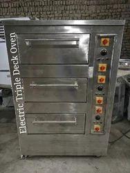 Three Deck Oven, Capacity: 8