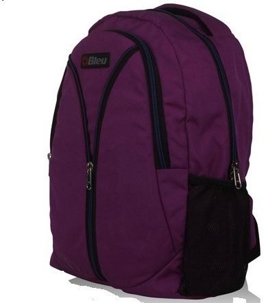 Nylon Trendy Purple Laptop Bag
