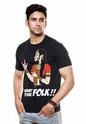 Round Neck T-Shirt (Wat The Folk)