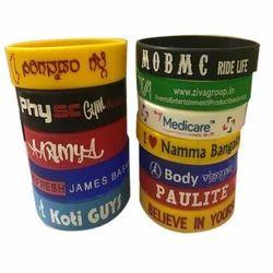 Custom Printed Silicone Wristbands