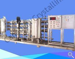 Canadian Crystalline Stainless Steel Water Purification Systems, Water Storage Capacity: 1000 L