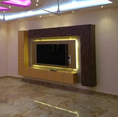 Interior Design Works Mica Acrylic Plywood Works Area Size 100 Sq Ft Id 19819724973
