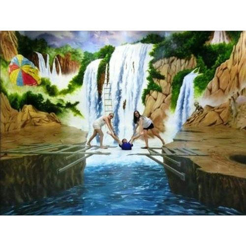 3d floor art painting at rs 250 square feet modern art paintings 3d floor art painting tyukafo