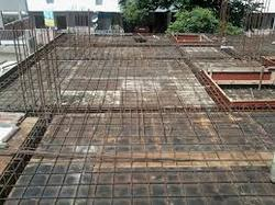 Residential Rcc Slab Construction Work Godawari
