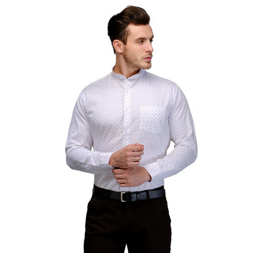 2ab8a15de Mens Casual Shirts - Printed Chinese Collar Shirt Manufacturer from ...