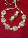 Meena Kundan Polki Designer Necklace Set