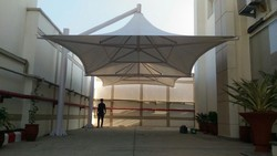 Tensile Umbrella Shed