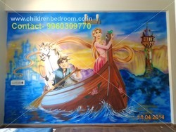 3D Cartoon Wall Painting services, Type of Property Covered: residential and commercial