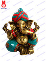 Lord Ganesha W/out Base W/stone Statue