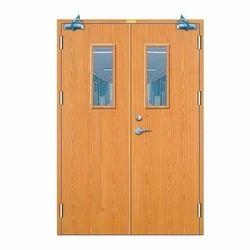 Swing Fireproof Wooden Fire Rated Door