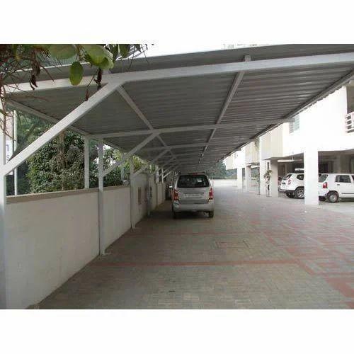 Car Parking Shed Ms Fabrication In Khopoli Navi Mumbai